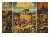 Triptych of the Haywain, Open Giclée-Druck von Hieronymus Bosch