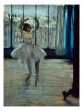 Ballerina at the Photographer's, c. 1877-78 Giclee Print by Edgar Degas