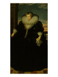 Maria dei Medici, Queen of France Giclee Print by Frans Pourbus I