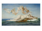 Birth of Venus Giclee Print by Alexandre Cabanel