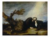 Jacob's Dream Giclée-tryk af Jusepe de Ribera