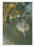 Scene of Dance or l'etoile Giclee Print by Edgar Degas