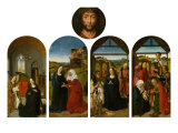 Polyptych of the Childhood of Christ Giclee Print by Dieric Bouts