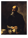 Touch, or the Blind Man of Gambassi Giclee Print by Jusepe de Ribera
