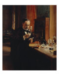 Portrait of Louis Pasteur Giclee Print by Albert Edelfelt