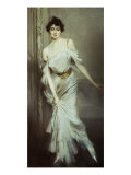 Portrait of Mme. Charles Max Giclee Print by Giovanni Boldini
