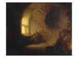 Philosopher in Meditation Gicledruk van Rembrandt van Rijn