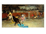 Scene of Bullfight Giclee Print by Fortuny y Marsal Mariano