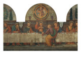 Last Supper: Central Part Giclee Print by Ridolfo Ghirlandaio