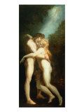 Adam and Eve Giclee Print by Heinrich Fuessl