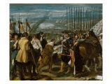 Surrender of Breda Reproduction procédé giclée par Diego Velazquez