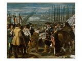 Surrender of Breda Gicléedruk van Diego Velázquez