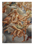 Assumption of the Virgin, detail (Angels Playing Music) Giclee Print by Correggio