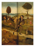 Triptych of the Haywain, Closed (The Journey through Life) Giclee Print by Hieronymus Bosch