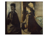 Madame Jeantaud in the Mirror Giclee Print by Edgar Degas