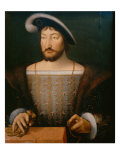 Portrait of Francis I King of France, c. 1530 Giclee Print by Joos Van Cleve