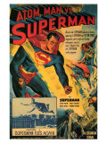 Atom Man Vs. Superman, 1948 Posters
