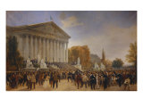 Fall of the Empire October 10, 1870 Giclee Print by Jules Didier