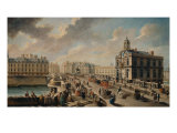 The Pont Neuf and the Church of the Samaritaine, 1777 Giclee Print by Nicolas & Jean Baptiste Raguenet