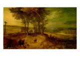 Attack by Brigands Giclee Print by Jan Bruegel the Younger