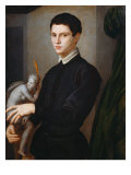 Portrait of a Sculptor (Juan Martinez Montanes) Giclee Print by Agnolo Bronzino