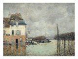 The Flood at Port-Marly Giclee Print by Alfred Sisley