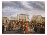 Carnival Scene, 1823 Giclee Print by Arthur Despagne