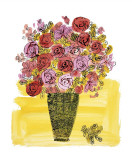 Basket of Flowers, c.1958 Giclée-tryk af Andy Warhol