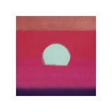 Sunset, c.1972 (hot pink, purple, red, blue) Reproduction procédé giclée par Andy Warhol