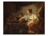 Preparations for the Meal Giclee Print by Jean-Honore Fragonard