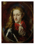 Portrait of Charles II Giclee Print by Claudio Coello