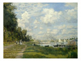 The Argenteuil Basin Giclee Print by Claude Monet