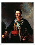 Portrait of the Infante Don Francesco de Paula Antonio Giclee Print by Vicente Lopez y Portana