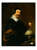 The Geographer by Diego Velazquez, Giclee Print