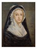 Portrait of Marie Antoinette in Prison Giclee Print