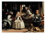 Las Meninas (The Maids of Honor) - detail, 1656 Giclee Print by Diego Velazquez