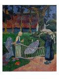 The Flowering Hedge Giclee Print by Paul Serusier
