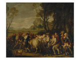 The First Furrow Giclee Print by Jean-Baptiste Greuze