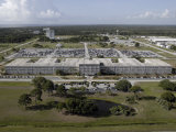 Aerial View of Kennedy Space Center Photographic Print