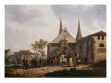 The Sack of a Church During the Revolution Giclee Print by Jacques Francois Joseph Swebach