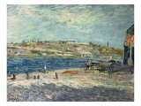 River Banks at Saint-Mammes, 1884 Giclee Print by Alfred Sisley