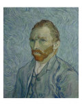 Self-Portrait, 1889 Giclee Print by Vincent van Gogh