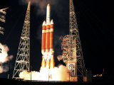 Delta IV Heavy Rocket Lifts Off Photographic Print
