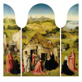Triptych of the Epiphany Giclee Print by Hieronymus Bosch