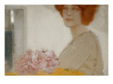 Roses Giclee Print by Fernand Khnopff