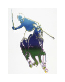 Polo Player, c.1985 Gicléedruk van Andy Warhol