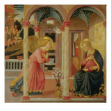 Annunciation Giclee Print by Zanobi Machiavelli