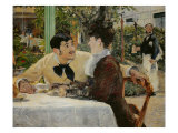 Chez le Pere Lathuille (At Pere Lathuille's) Giclee Print by Édouard Manet