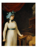 Charlotte Corday with the Body of Marat 1793 Lámina giclée