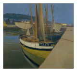 The Harbor Gicl&#233;e-Druck von Felix Vallotton